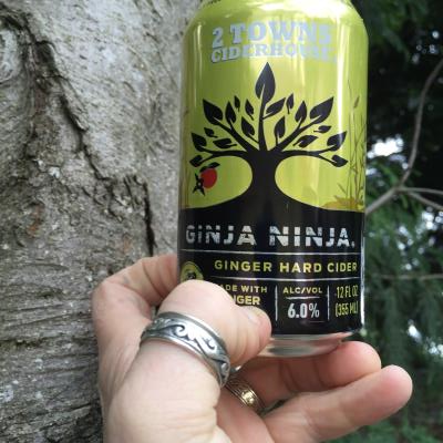 picture of 2 Towns Ciderhouse Ginja Ninja submitted by lizsavage