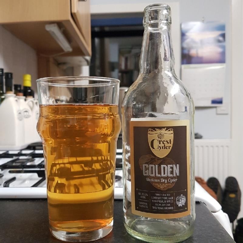 picture of Crest Cyder Golden submitted by BushWalker
