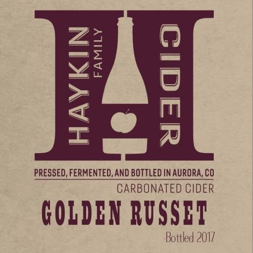 picture of Haykin Family Cider Golden Russet submitted by KariB