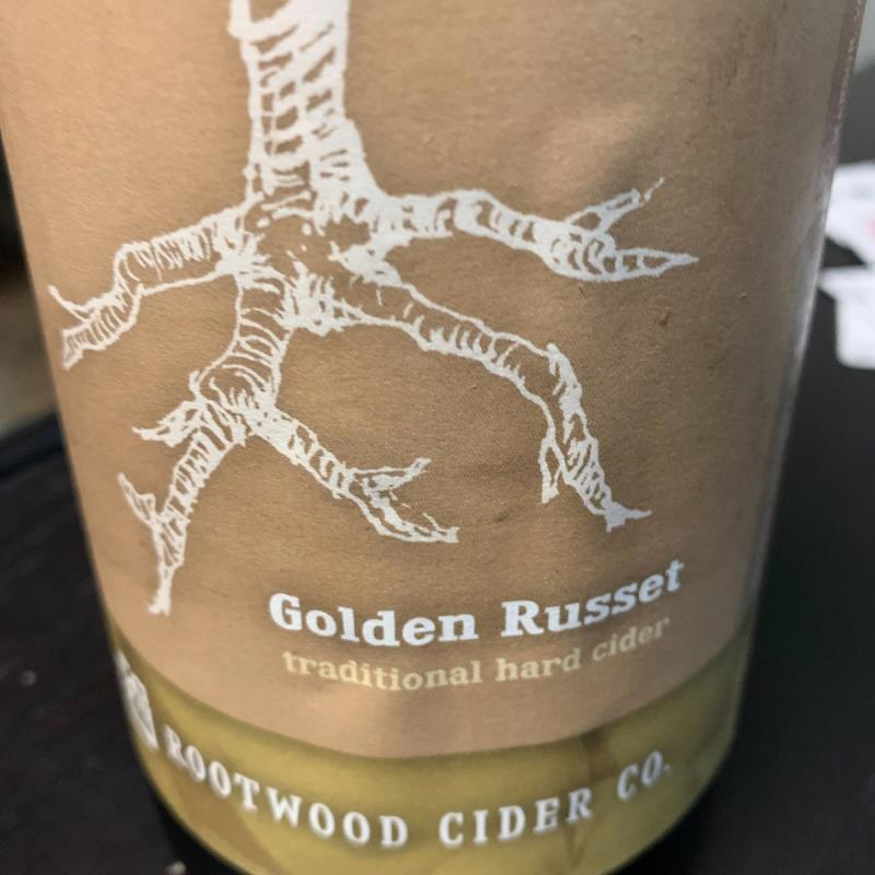 picture of Rootwood Cider Co Golden Russet submitted by KariB
