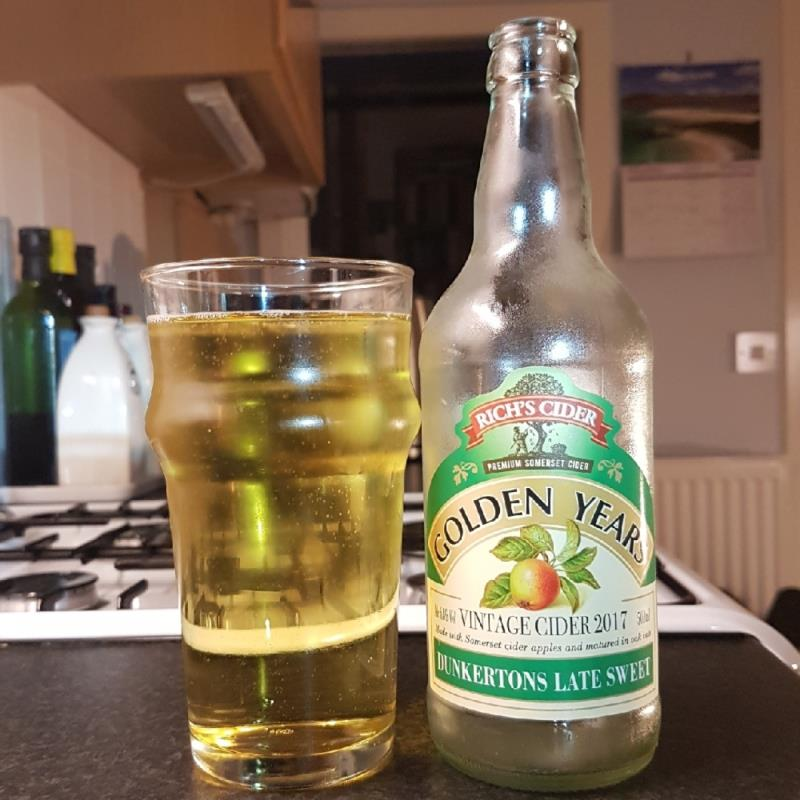 picture of Rich's Cider Golden Years Dunkertons Late Sweet submitted by BushWalker