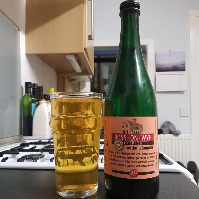 picture of Ross-on-Wye Cider & Perry Co Gordon's Surprise submitted by BushWalker