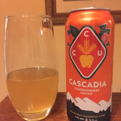 picture of Cascadia Ciderworkers United (Reverend Nat's) Grapefruit-Tangerine Cider submitted by david