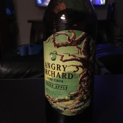 picture of Angry Orchard Green Apple submitted by lizsavage