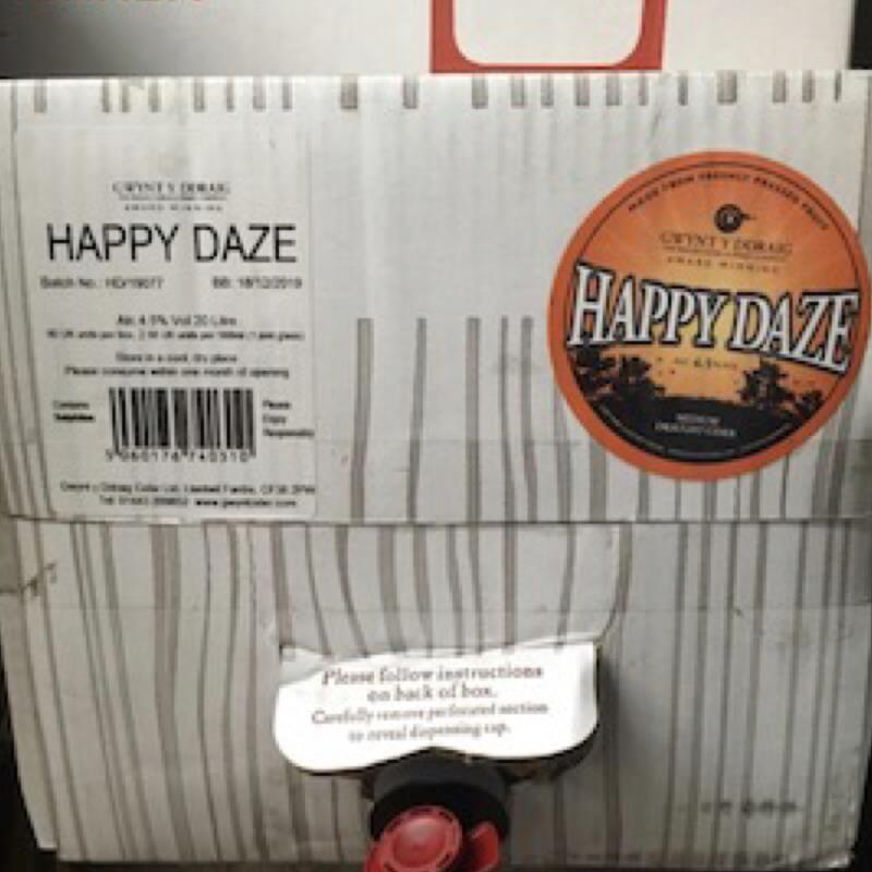 picture of Gwynt y Ddraig Cider Happy Daze submitted by Judge
