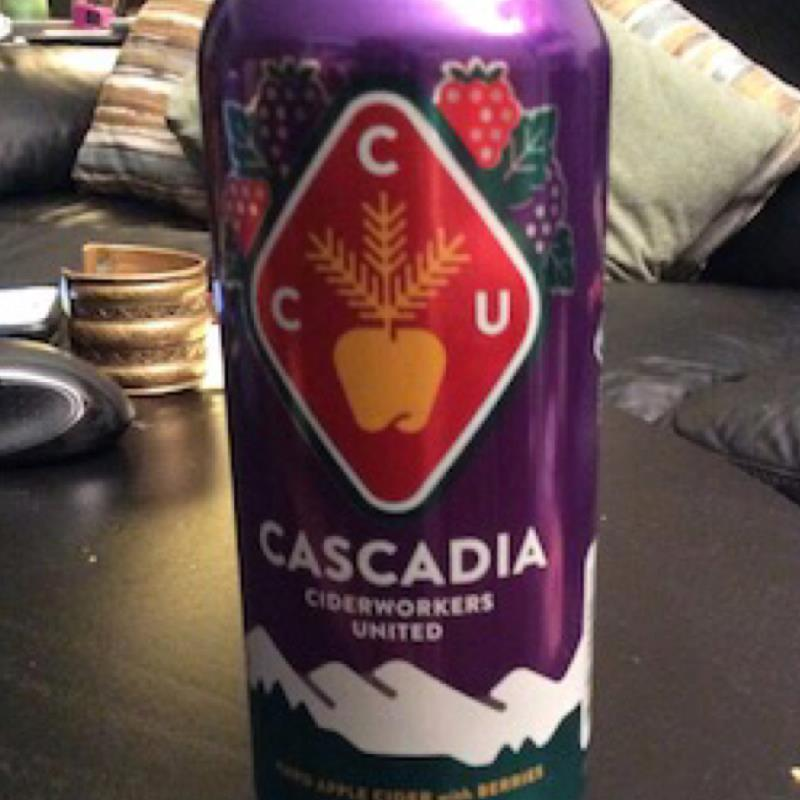 picture of Cascadia Ciderworkers United (Reverend Nat's) Hard Apple Cider with Berries submitted by herharmony23