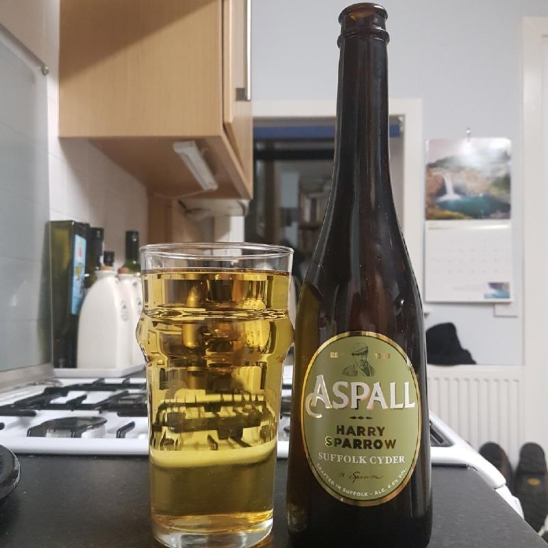 picture of Aspall Harry Sparrow submitted by BushWalker