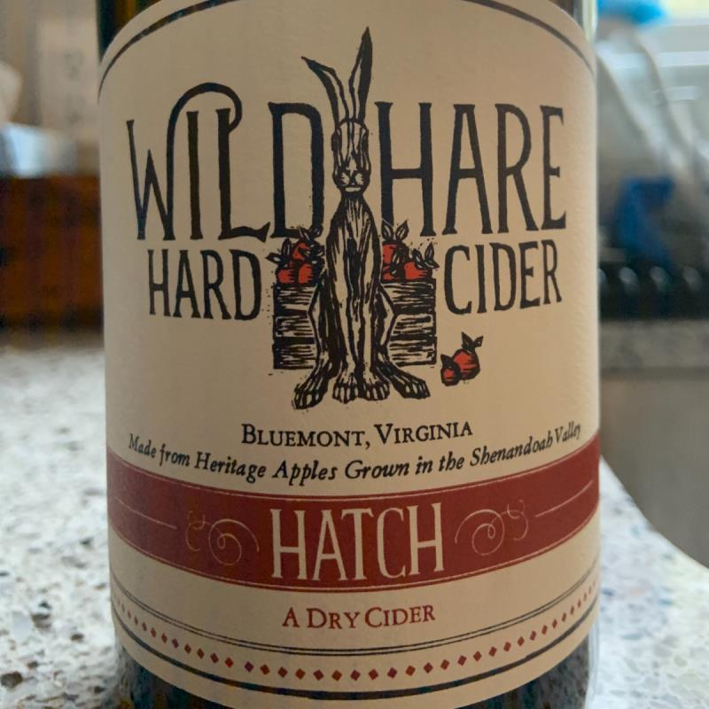picture of Wild Hare Hard Cider Hatch submitted by UndeCider