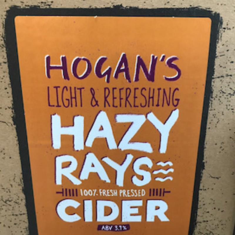 picture of Hogan's Cider Hazy Rays submitted by Judge