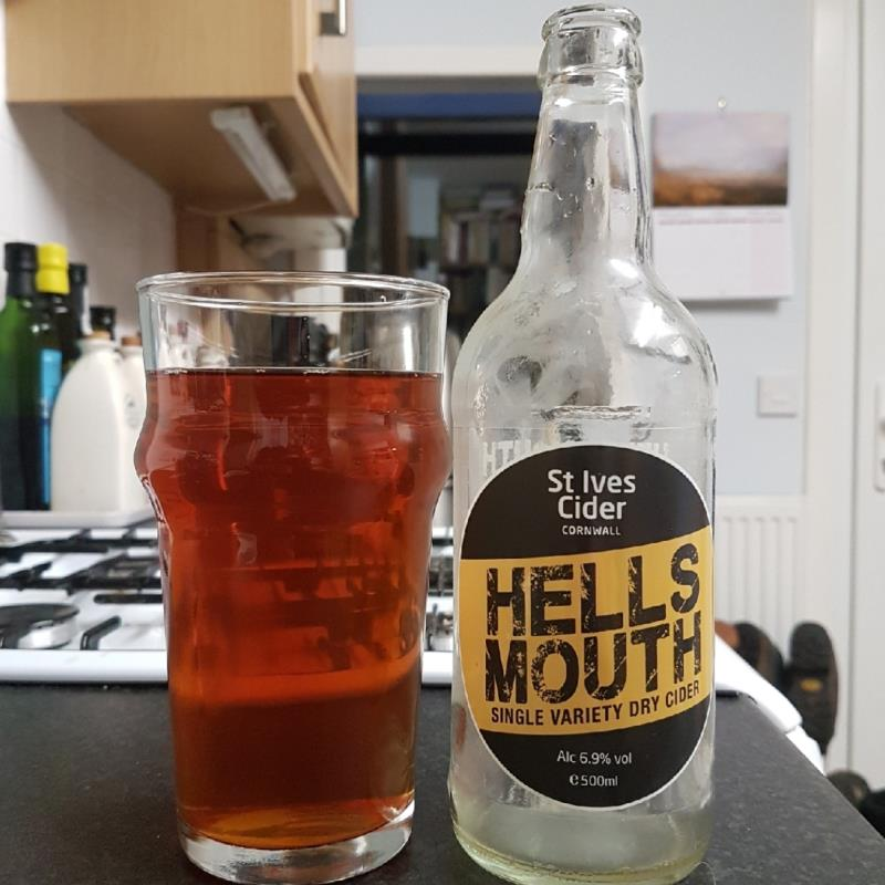 picture of St Ives Cider Hell's Mouth submitted by BushWalker