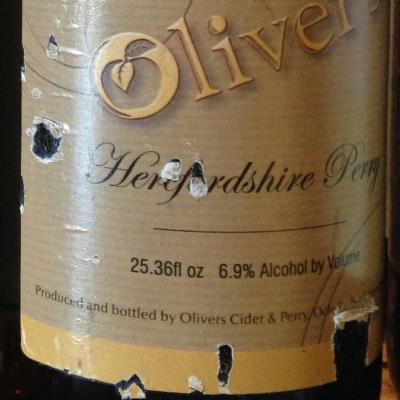 picture of Oliver's Cider and Perry Herefordshire Perry submitted by cidersays