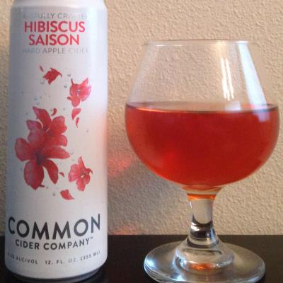 picture of Common Cider Company Hibiscus Saison submitted by cidersays