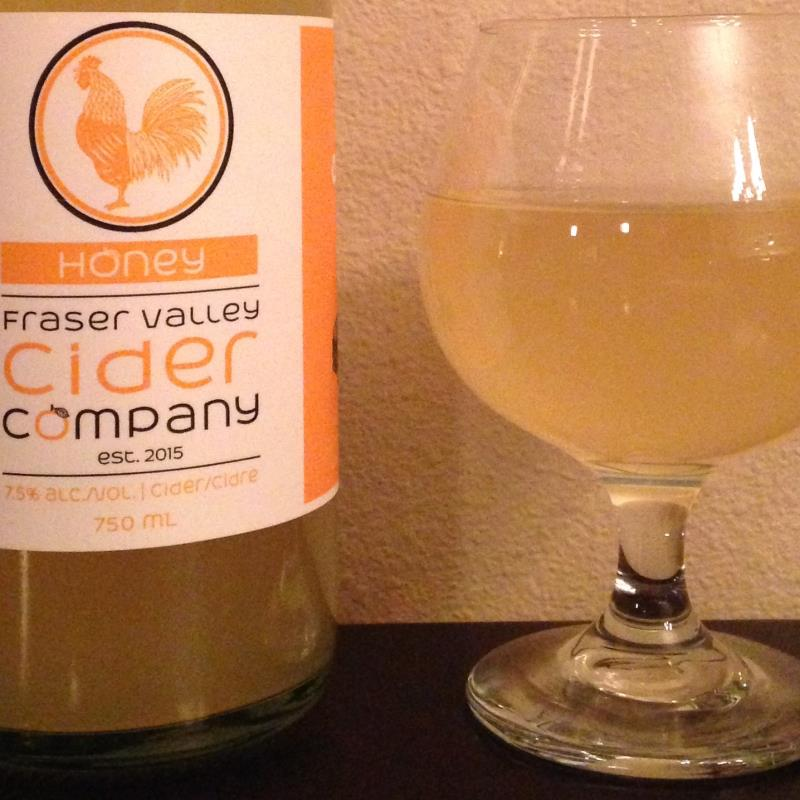 picture of Fraser Valley Cider Company Honey submitted by cidersays