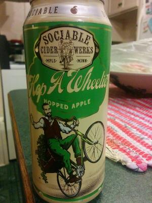 picture of Sociable Cider Werks Hop-A-Wheelie submitted by Reena