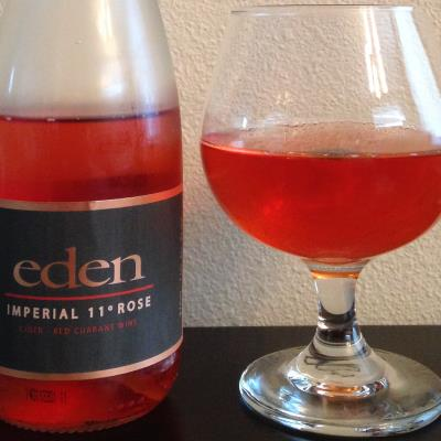 picture of Eden Cider Imperial 11 Rose (red currant) submitted by cidersays