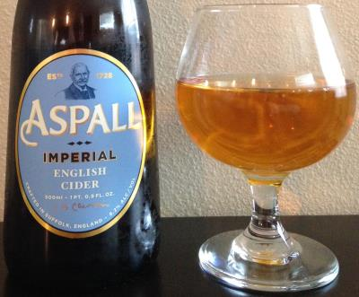 picture of Aspall Imperial English Cider (blue label) submitted by cidersays
