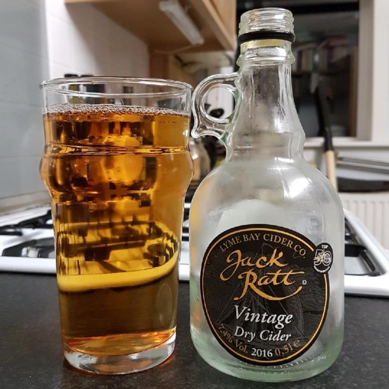 picture of Lyme Bay Winery Jack Ratt Vintage Dry Cider 2016 submitted by BushWalker