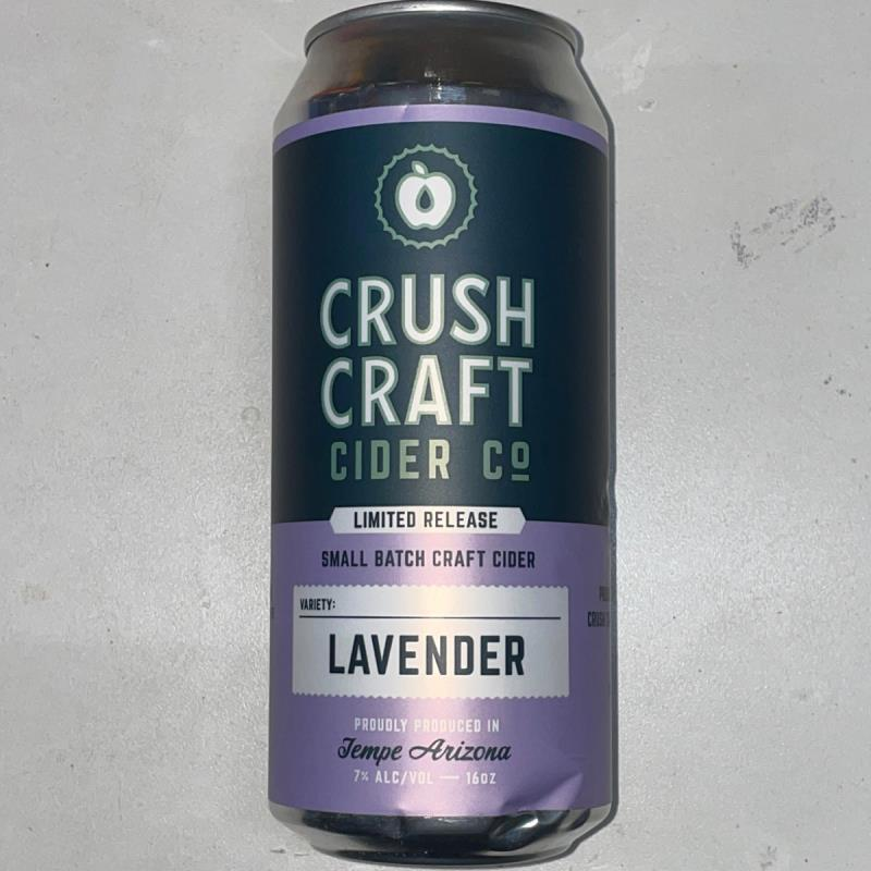 picture of Crush Craft Cider Co. Lavender submitted by PricklyCider