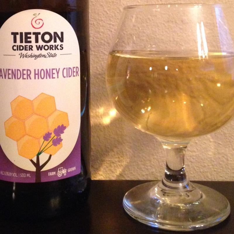picture of Tieton Cider Works Lavender Honey submitted by cidersays