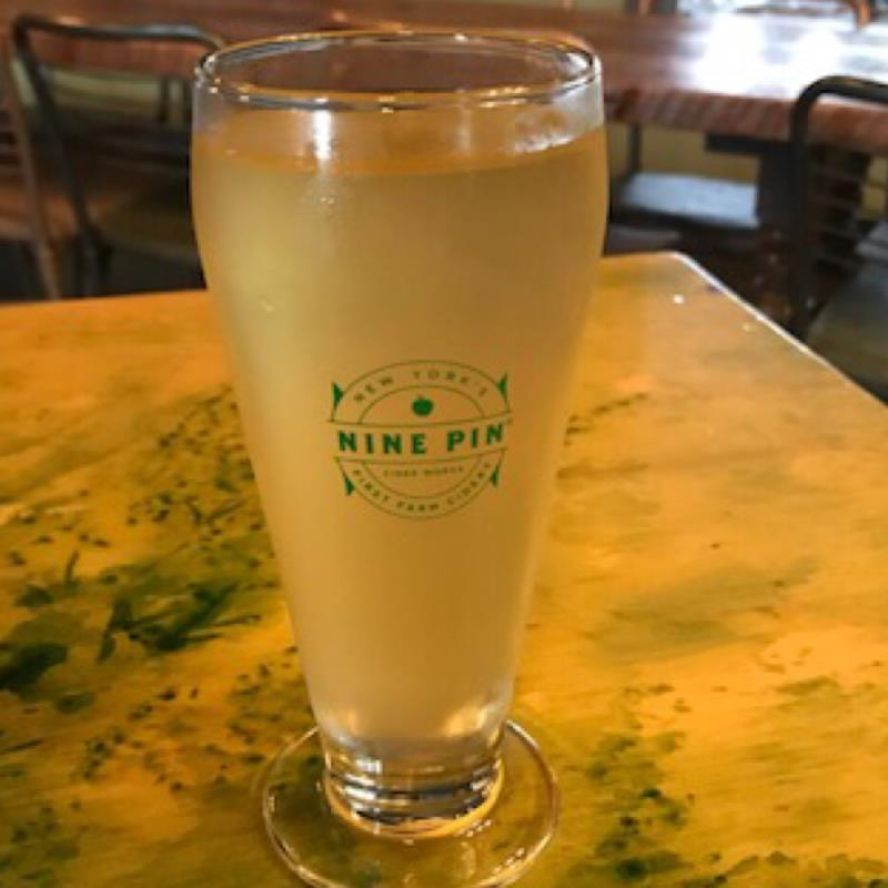 picture of Nine Pin Ciderworks Lavender Lemonade submitted by noses