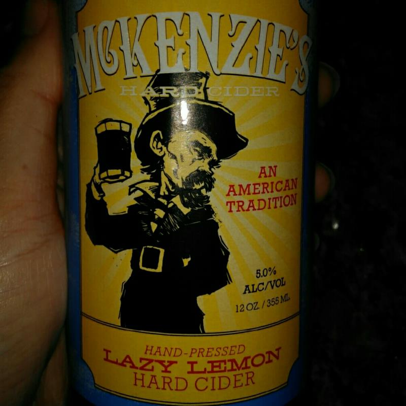 picture of McKenzie's Hard Cider Lazy Lemon submitted by ErikaComan
