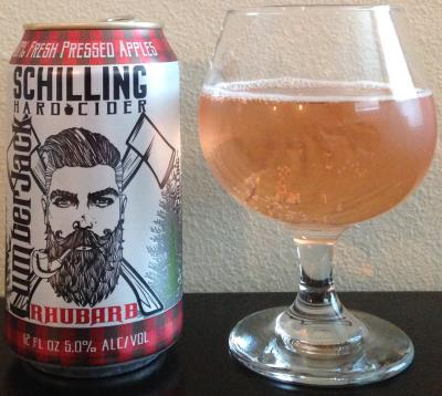 picture of Schilling Cider LumberJack (Rhubarb) submitted by cidersays