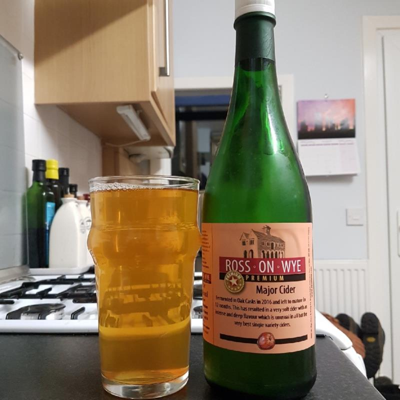 picture of Ross-on-Wye Cider & Perry Co Major Cider submitted by BushWalker