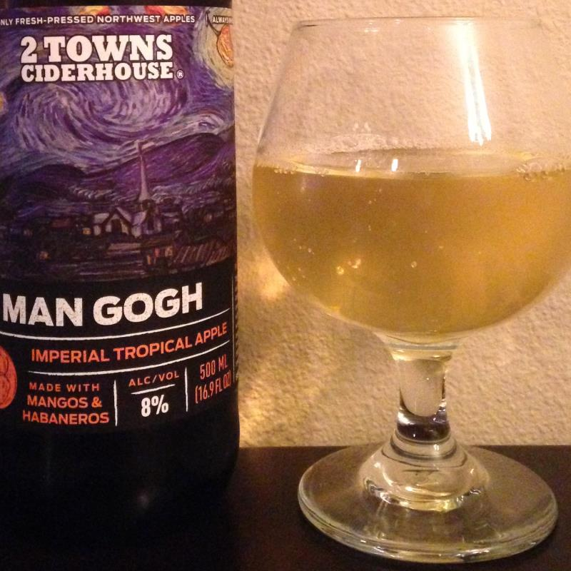 picture of 2 Towns Ciderhouse Man Gogh submitted by cidersays