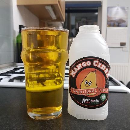 picture of Weymouth Cider Company Mango submitted by BushWalker