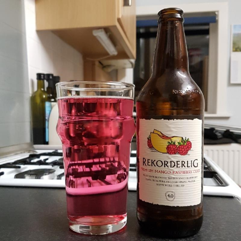 picture of Rekorderlig Swedish Cidery Mango & Raspberry submitted by BushWalker