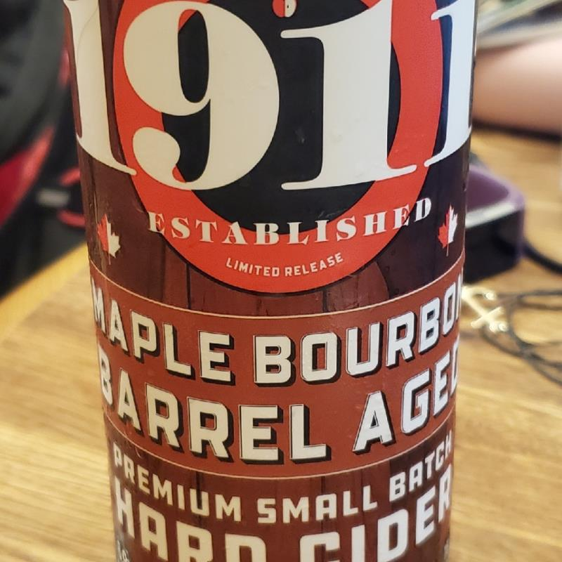 picture of 1911 Maple Bourbon Barrel Aged submitted by matths1015