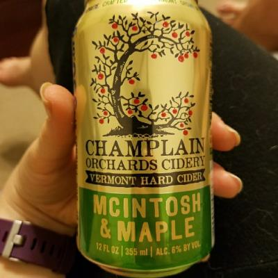 picture of Champlain Orchards Cidery McIntosh & Maple submitted by travel513