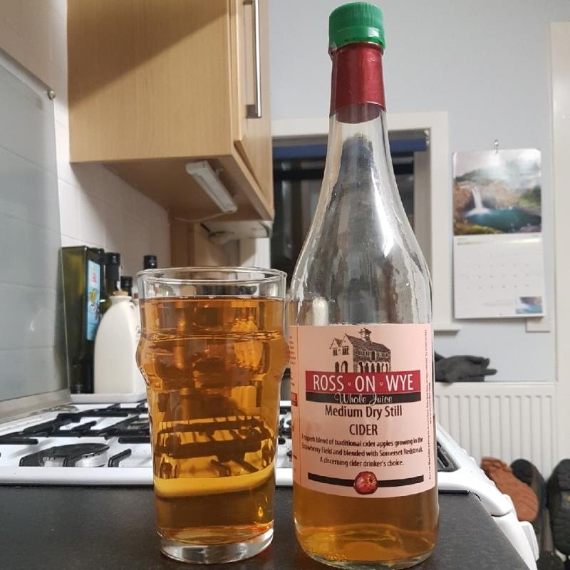 picture of Ross-on-Wye Cider & Perry Co Medium Dry Still submitted by BushWalker