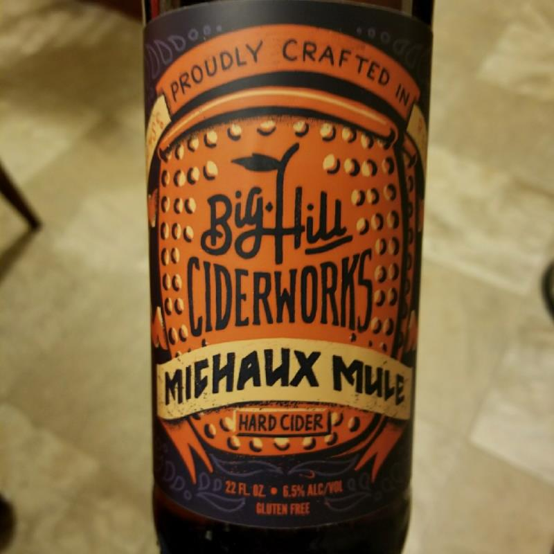 picture of Big Hill Ciderworks Michaux Mule submitted by CiderTable