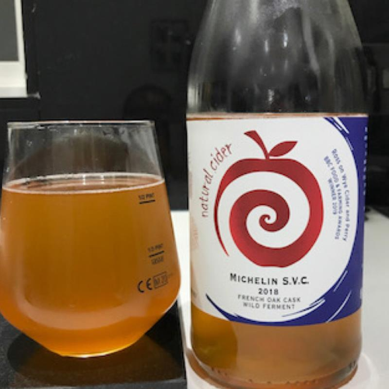picture of Ross-on-Wye Cider & Perry Co Michelin S.V.C. 2018 French Oak Cask submitted by Judge