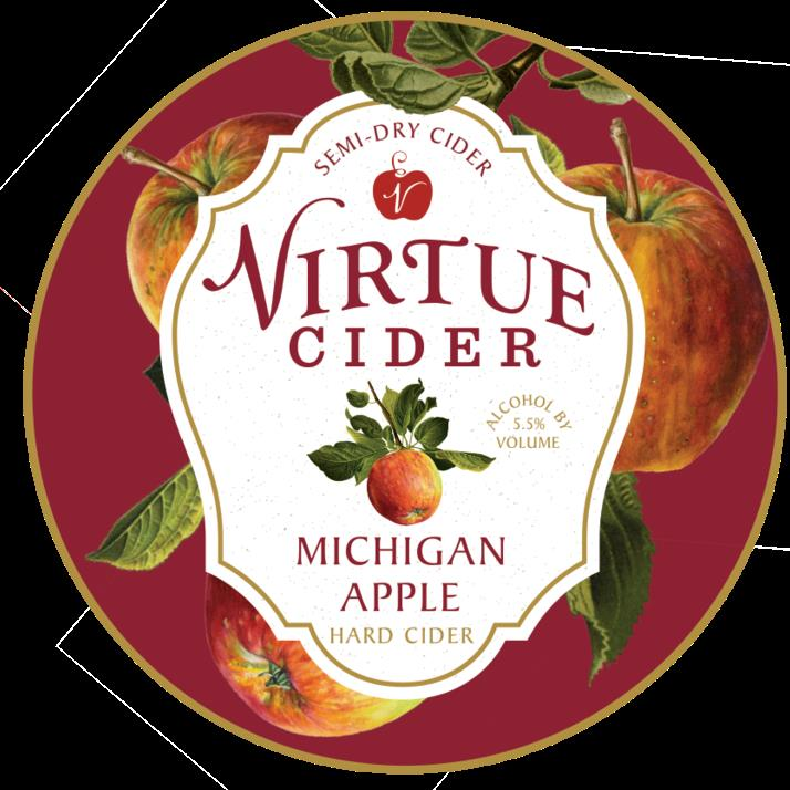 picture of Virtue Cider Michigan Apple submitted by KariB