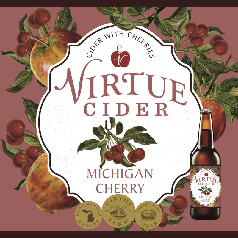 picture of Virtue Cider Michigan Cherry submitted by KariB