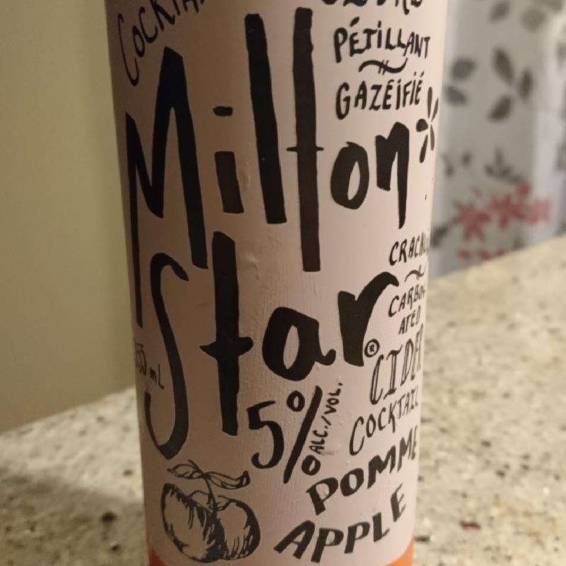 picture of Cidrerie Milton Milton Star Cider Cocktail Apple submitted by hmf213