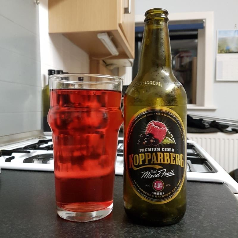 picture of Kopparberg Brewery Mixed Fruit submitted by BushWalker