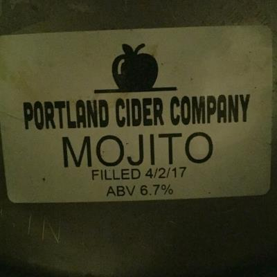 picture of Portland Cider Co. Mojito submitted by herharmony23