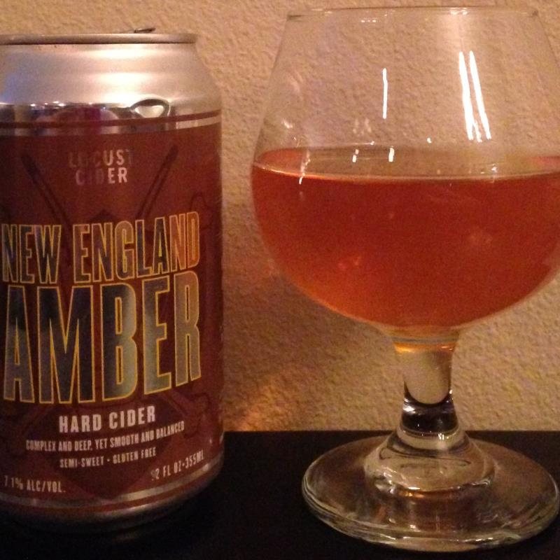 picture of Locust cider New England Amber submitted by cidersays