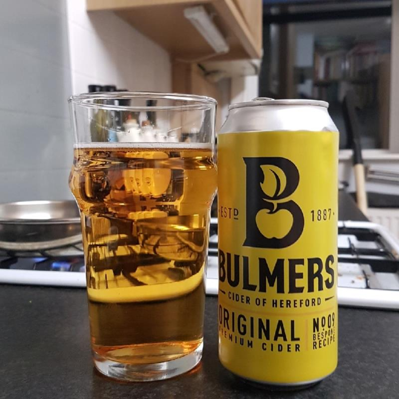picture of Bulmer's Cider No 9 Premium Bespoke Cider submitted by BushWalker