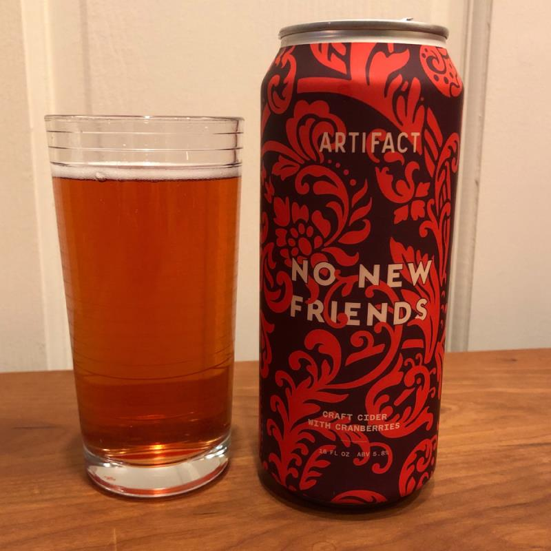 picture of Artifact Cider Project No New Friends submitted by Cideristas