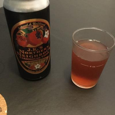 picture of J.K.'s Northern Neighbor Farmhouse Hard Cider submitted by danlo