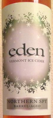 picture of Eden Cider Northern Spy (Barrel Aged) Ice Cider submitted by cidersays