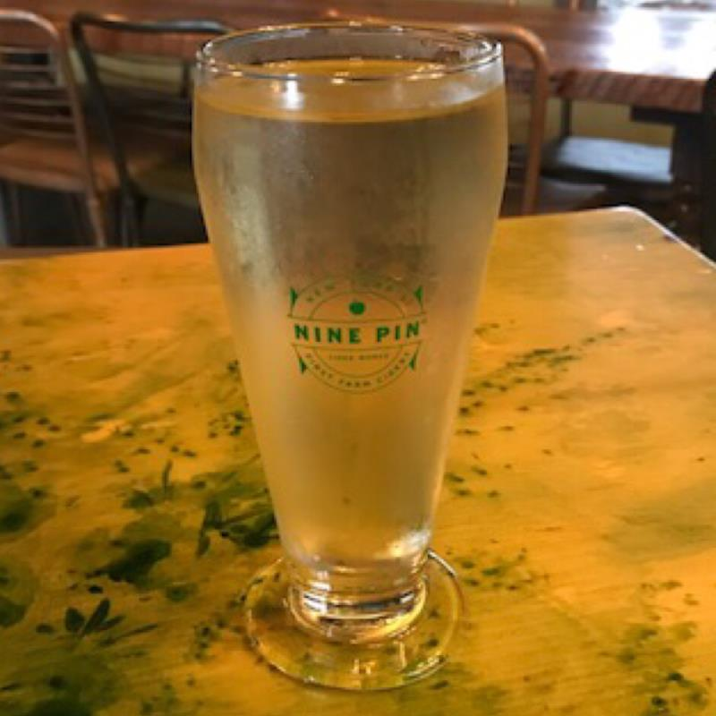 picture of Nine Pin Ciderworks NY Kiwi submitted by noses
