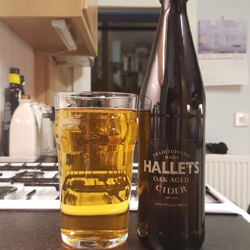 picture of Hallets Real Cider Oak-Aged submitted by BushWalker