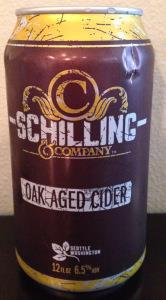 picture of Schilling Cider Oak Aged Cider submitted by cidersays