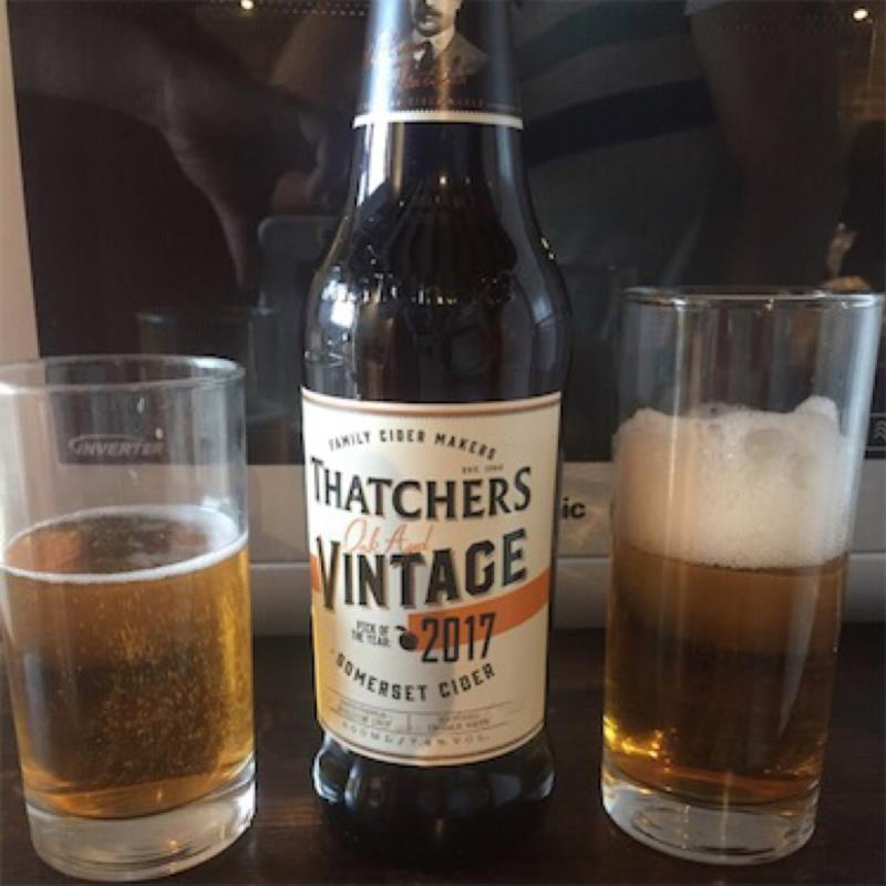 picture of Thatchers Cider Company Oak Aged Vintage 2017 submitted by david