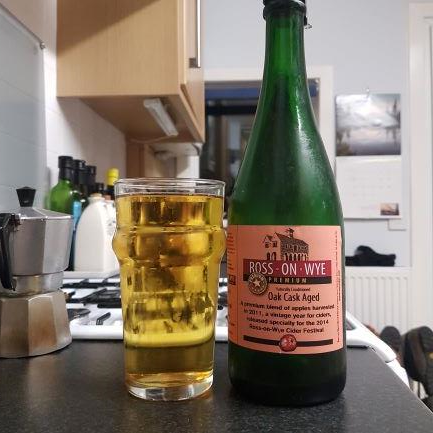picture of Ross-on-Wye Cider & Perry Co Oak Cask Aged submitted by BushWalker